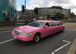 pink limo hire birmingham