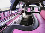 pink limo hire surrey