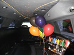 birthday pink limo hire