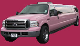 pink ford excursion limo hire