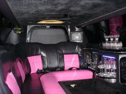 Pink Lincoln Millennium limo hire